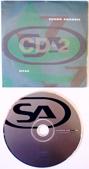 Skunk Anansie ‎- Weak (CD Single Pt 2) (VG/G++)
